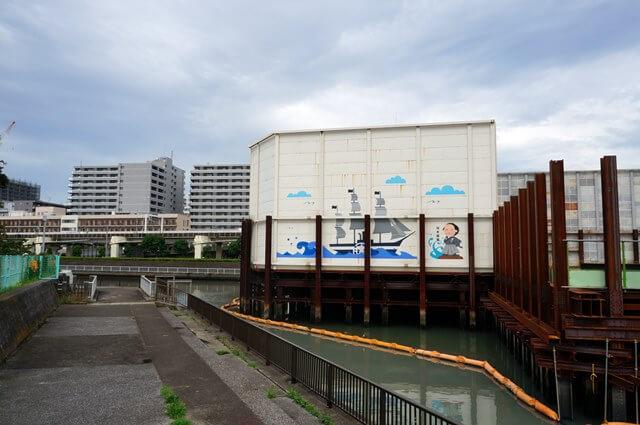 勝島運河 2016.6.25