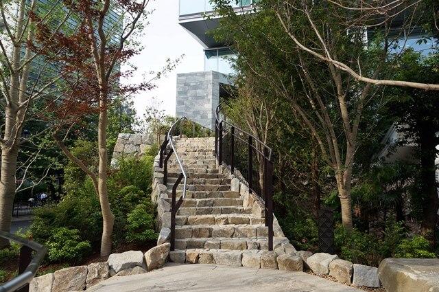 天祖神社側の道 2016.5.21