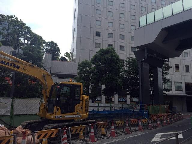 「目黒川歩行者デッキ」 2016.5.29