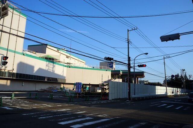 アピタ日吉店跡地 2016.6.18