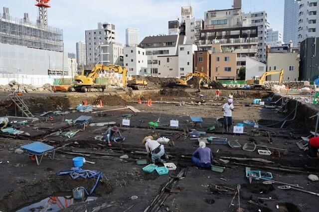 「湊二丁目遺跡見学会」 2016.7.2