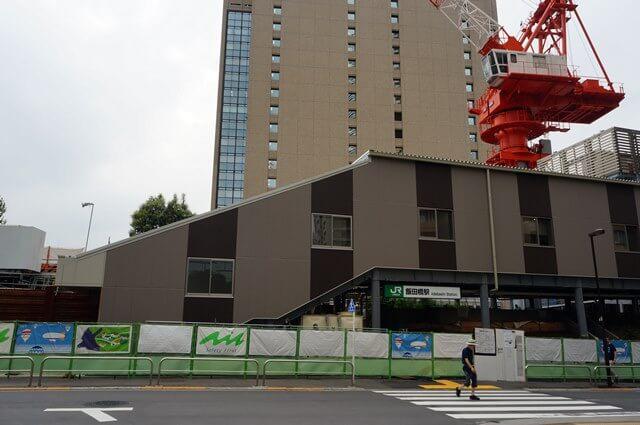「JR飯田橋駅改良工事」 2016.7.16