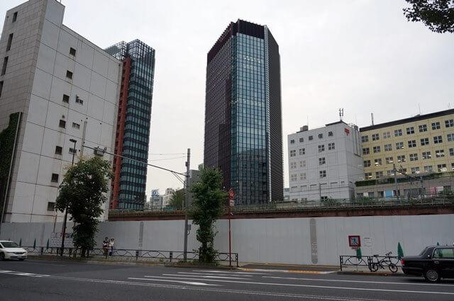 「東京都住宅供給公社昌平橋ビル」跡地 2016.7.16