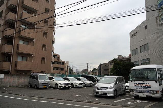 「都市計画道路補助26号線」五本木~目黒郵便局 2016.7.17
