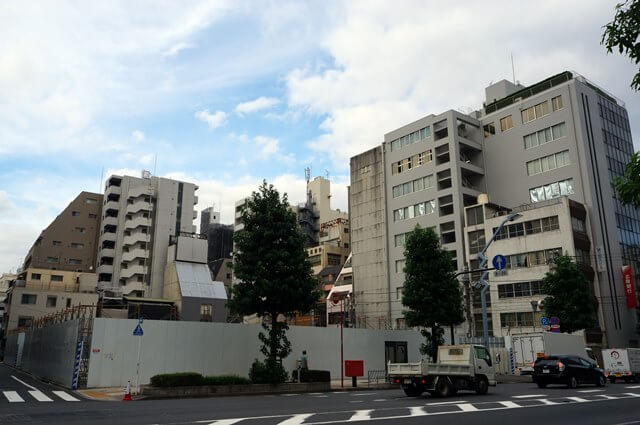 丹青社本社跡地 2016.7.23