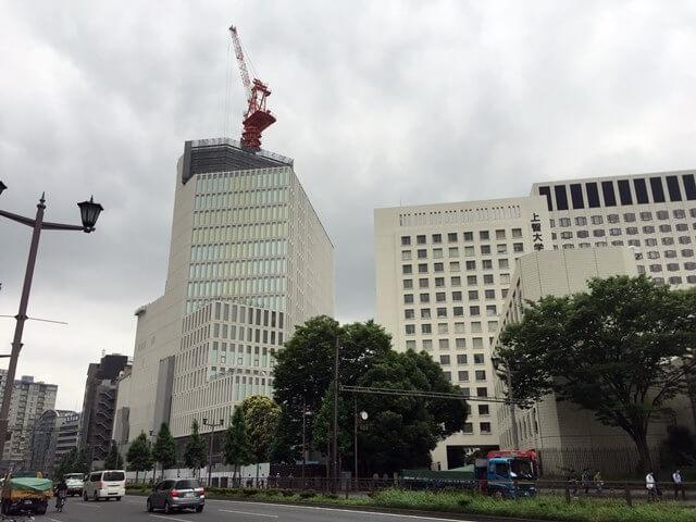 「上智大学四谷キャンパス6号館(ソフィアタワー) 」 2016.6.29