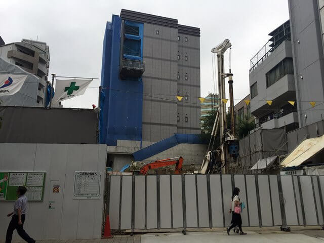 ドンキホーテホールディングスの「(仮称)赤坂4丁目店舗」 2016.7.5