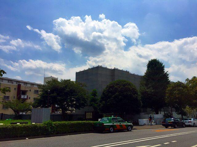 「霞ヶ丘団地」 2016.7.19
