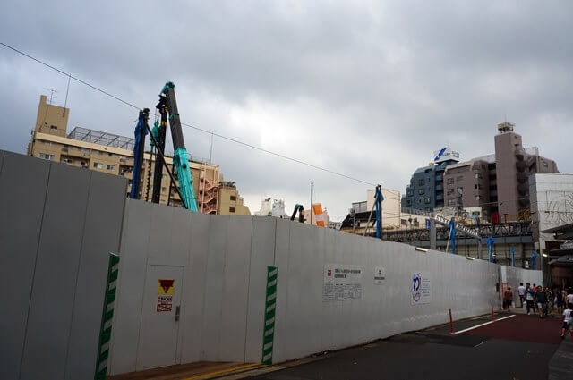 「武蔵小山パルム駅前地区市街地再開発」 2016.7.17