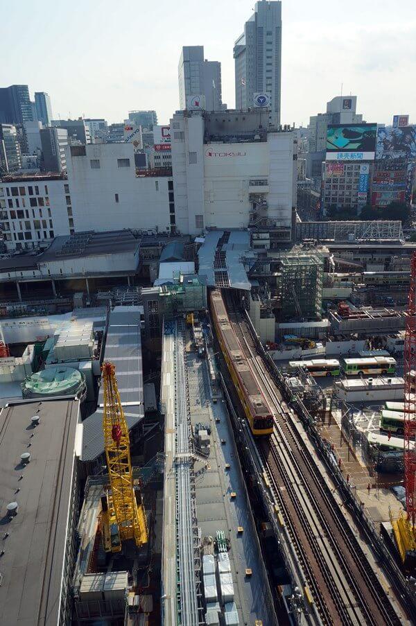 「銀座線渋谷駅移設工事」 2016.8.6
