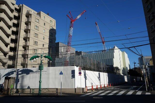 (仮称)東品川四丁目計画新築工事 2016.8.7