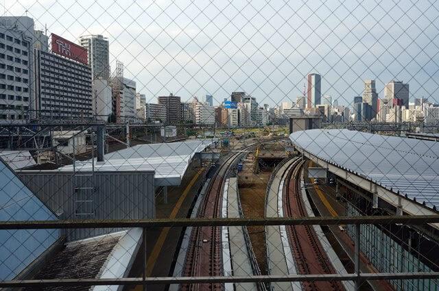 品川駅 6番線、7番線ホーム 2016.8.14