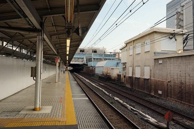 品川駅 5番線、4番線ホーム 2016.8.14
