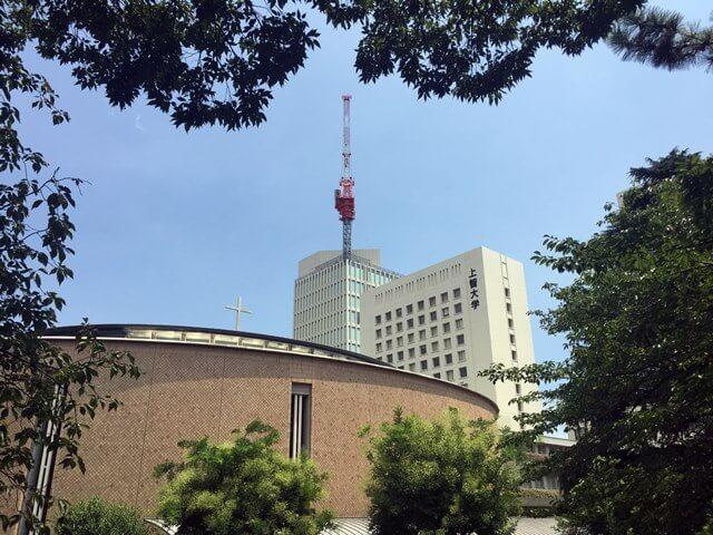 「上智大学四谷キャンパス6号館(ソフィアタワー) 」 2016.8.4