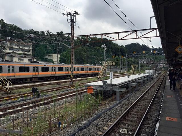 青梅駅 2016年8月中旬