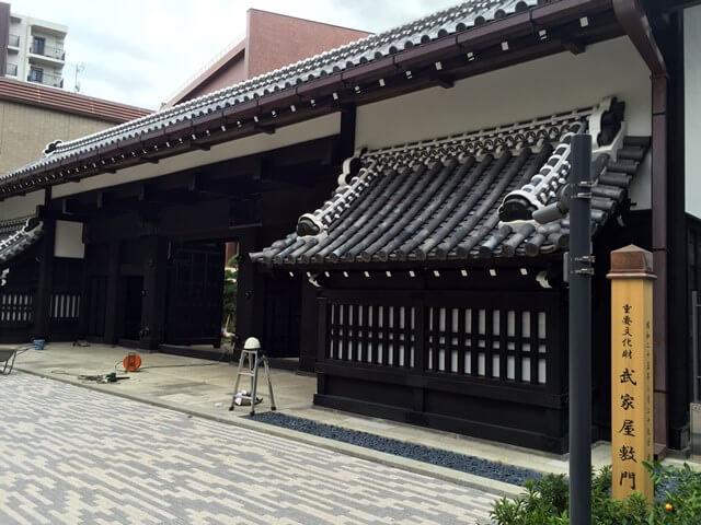 山脇学園 武家屋敷門 2016.8.25