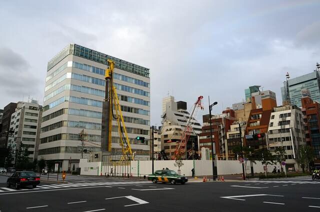 「(仮称)新橋四丁目計画 新築工事」 2016.9.3