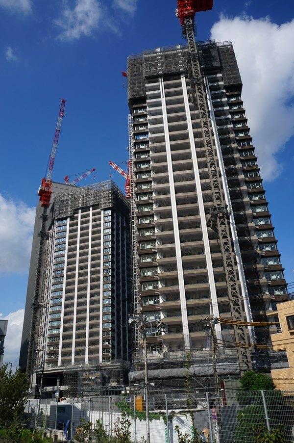 「Brillia Towers 目黒」(ブリリアタワーズ目黒) 2016.9.4