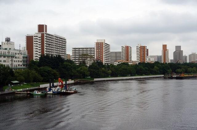 京浜運河 防波堤 2016.9.11