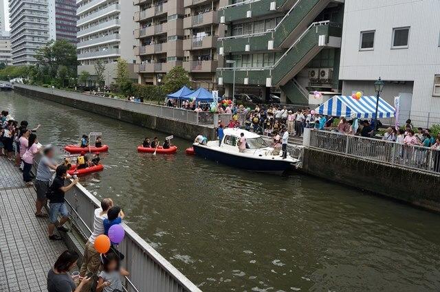 「芝浦運河祭り」 2016.9.25
