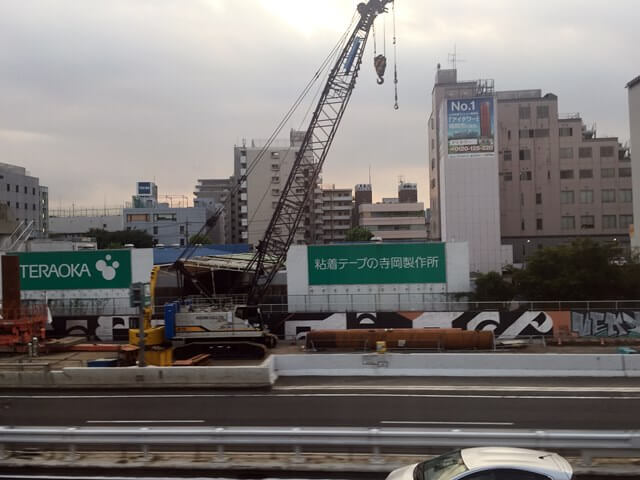 「高速1号羽田線更新工事」 2016年8月中旬