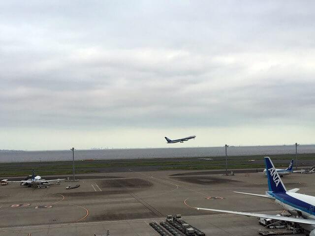 羽田空港 2016年8月中旬