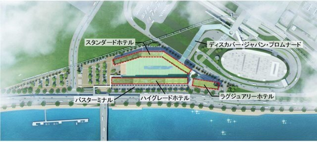 「羽田空港跡地第2ゾーン」 (出典:マイナビニュース)