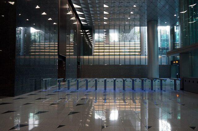 テレビ東京新本社ビルの地下 2016.10.15