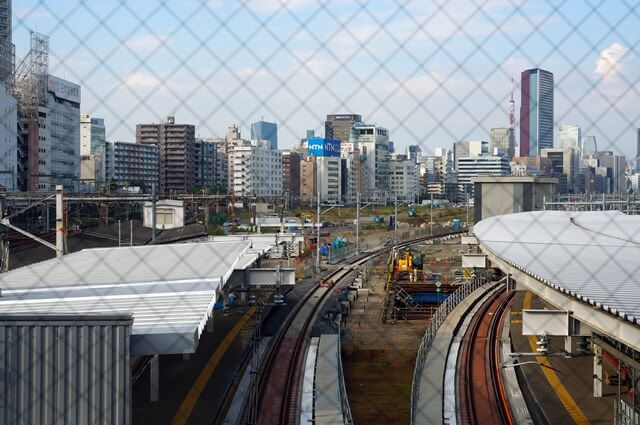 品川駅 6番線、7番線ホーム 2016.10.16