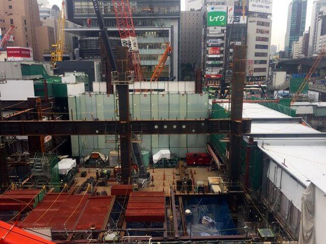 「渋谷駅街区開発計画I期(東棟)」 2016.10.22