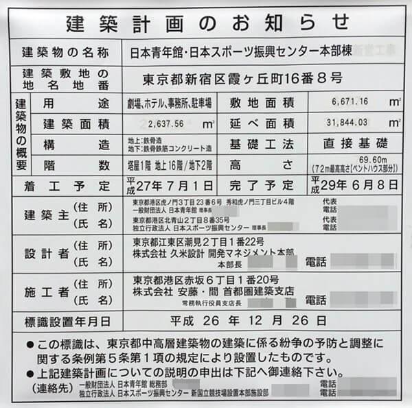 「日本青年館・日本スポーツ振興センター本部棟」 2016.10.5