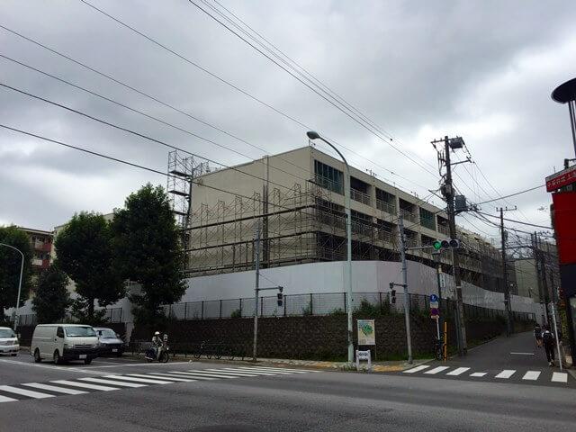 霞ヶ丘団地跡地 2016.10.5