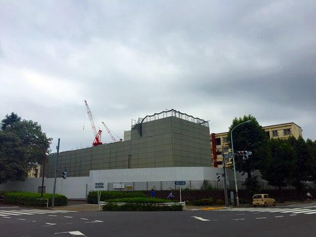 霞ヶ丘団地交差点 2016.10.5