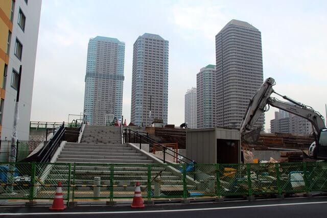 隅田川の堤防 2016.10.7