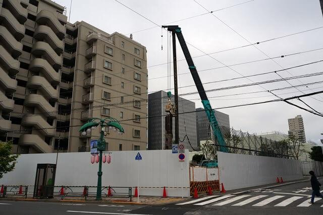 (仮称)東品川四丁目計画新築工事 2016.10.30