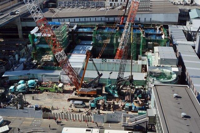渋谷駅街区開発計画I期(東棟)」 2016.11.4