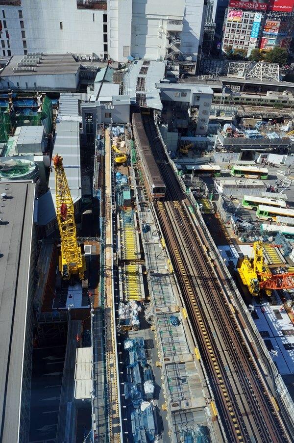 「銀座線渋谷駅移設工事」 2016.11.4