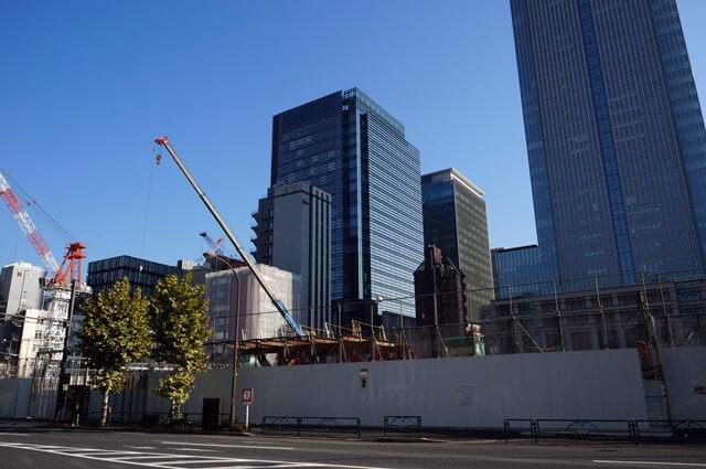 日本橋室町三丁目地区第一種市街地再開発事業A地区新築工事 2016.11.5