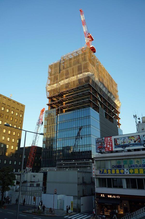 「エイベックスグループ本社ビル建替え工事」 2016.11.5
