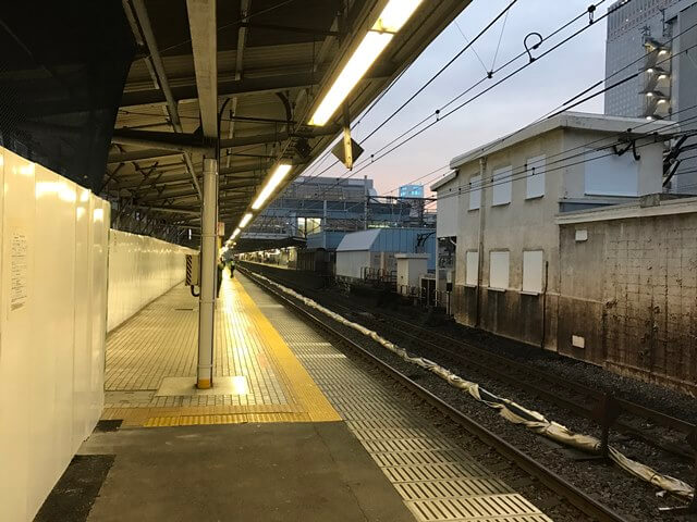 品川駅 5線ホーム 2016.11.15