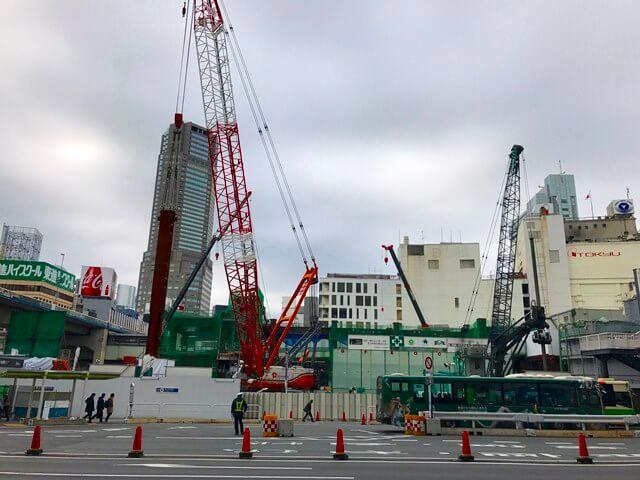 「渋谷駅街区開発計画I期(東棟)」 2016.11.16