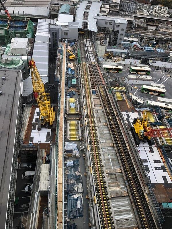 「銀座線渋谷駅移設工事」 2016.11.16