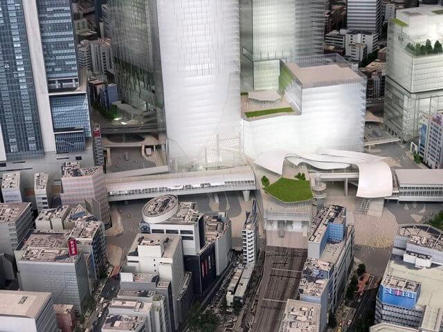 ヒカリエ 都市模型 2016.11.16