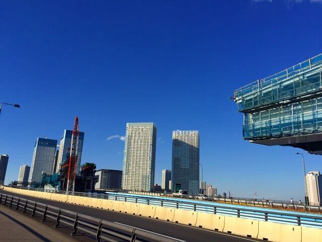 「首都高速10号晴海線」 晴海大橋 2016.11.3