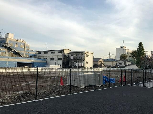 JRの大崎寮跡地 2016.11.20