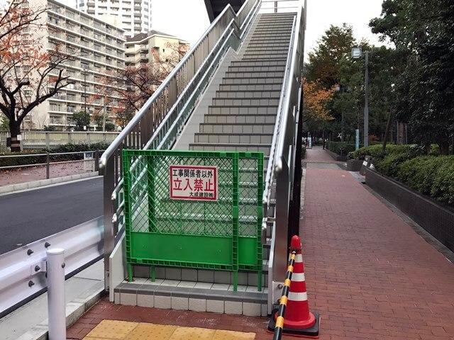 目黒川歩行者デッキ 2016.11.20