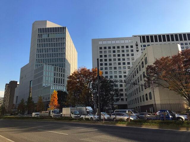 「上智大学四谷キャンパス6号館(ソフィアタワー) 」 2016.11.25
