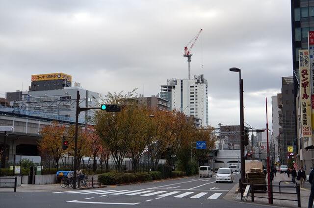 「(仮称)松坂屋上野店南館建替計画 新築工事」 2016.11.26