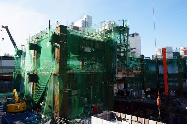 「渋谷駅街区開発計画I期(東棟)」 2016.12.2