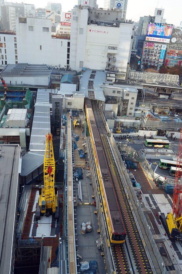 「銀座線渋谷駅移設工事」 2016.12.2